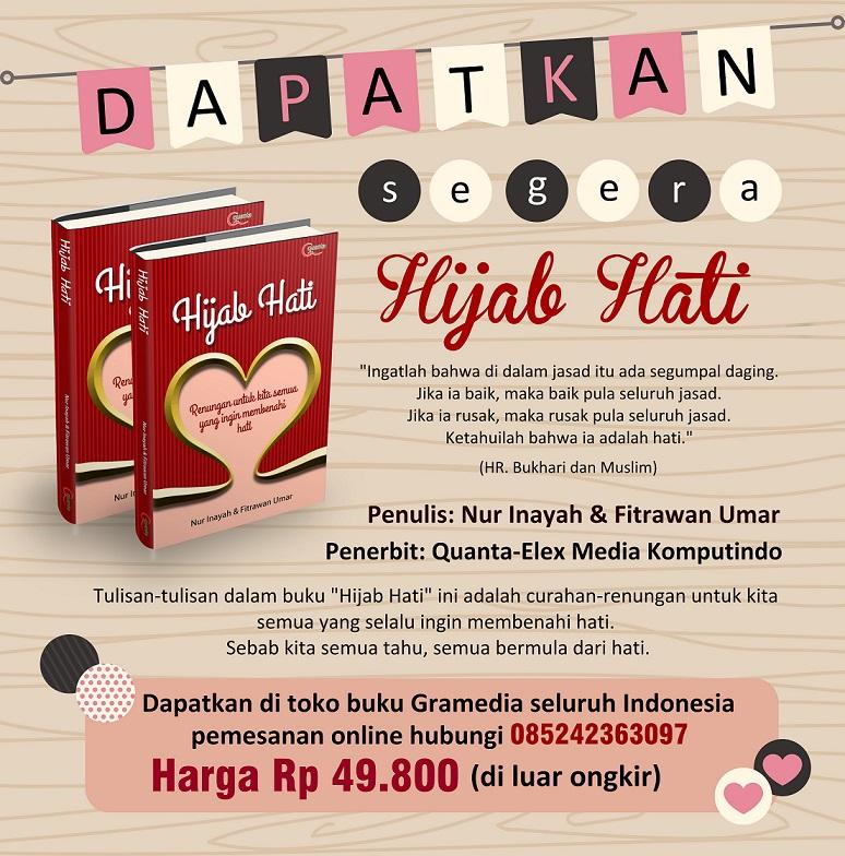 Promo Hijab Hati - Ukuran Besar