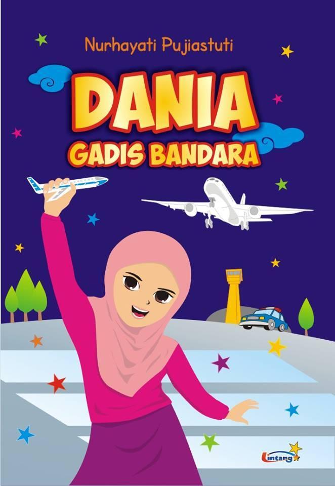 Ilustrasi Sampul Dania Gadis Bandara