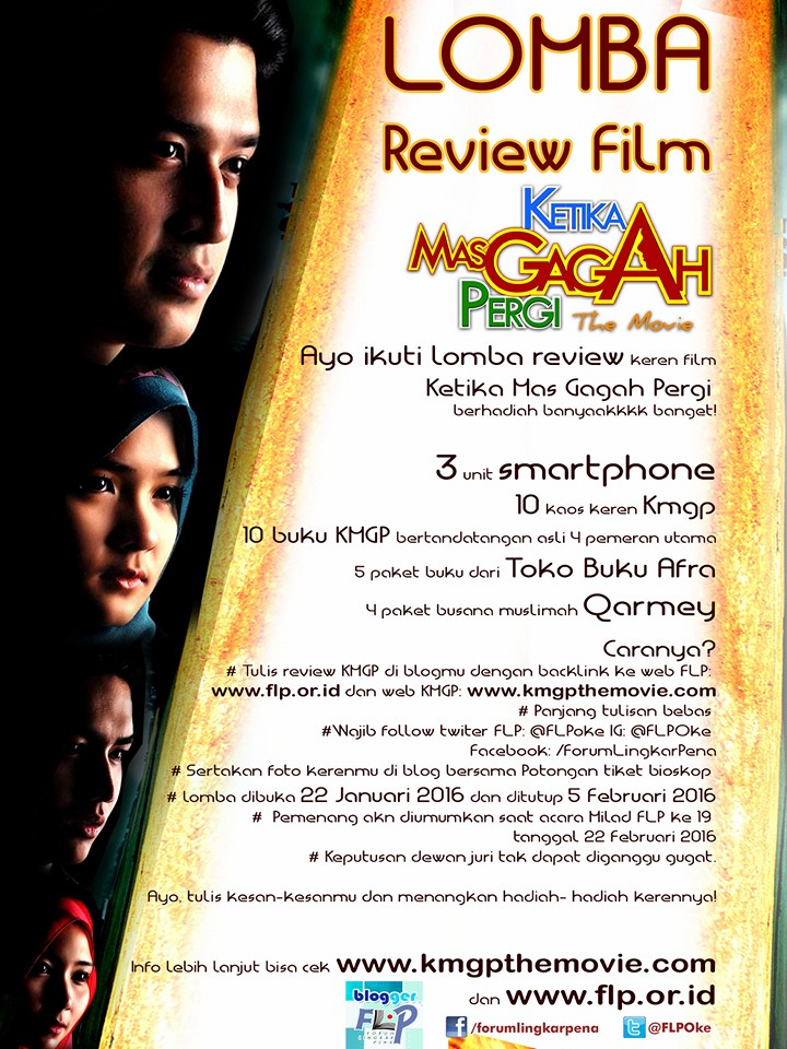 Poster Lomba Review #KMGPthemovie