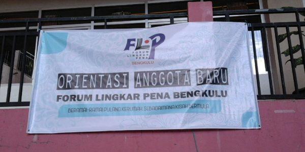 Orientasi Anggota FLP Bengkulu