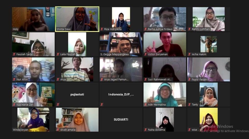 Inaugurasi Online FLP Jakarta Di Tengah Pandemi